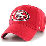 '47 Men's San Francisco 49ers Red Clean Up Adjustable Hat