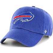 '47 Men's Buffalo Bills Royal Clean Up Adjustable Hat
