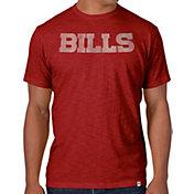'47 Men's Buffalo Bills Scrum Wordmark T-Shirt