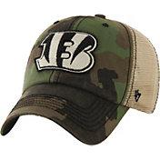 '47 Men's Cincinnati Bengals Burnett Adjustable Camouflage Hat