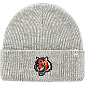 '47 Men's Cincinnati Bengals Brain Freeze Grey Knit Beanie