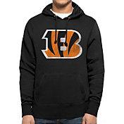 '47 Men's Cincinnati Bengals MVP Headline Pullover Black Hoodie