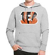 '47 Men's Cincinnati Bengals MVP Headline Pullover Grey Hoodie