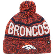 '47 Men's Denver Broncos Northmont Orange Pom Knit Hat