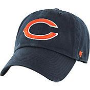 '47 Men's Chicago Bears Clean Up Adjustable Navy Hat