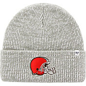 '47 Men's Cleveland Browns Brain Freeze Grey Knit Beanie