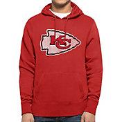 '47 Men's Kansas City Chiefs MVP Headline Pullover Red Hoodie