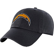 '47 Men's San Diego Chargers Navy Clean Up Adjustable Hat