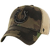 '47 Men's Indianapolis Colts Burnett Adjustable Camouflage Hat