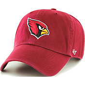 '47 Men's Arizona Cardinals Red Clean Up Adjustable Hat
