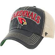 '47 Men's Arizona Cardinals Vintage Tuscaloosa Black Adjustable Hat