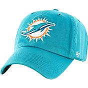 '47 Men's Miami Dolphins Aqua Clean Up Adjustable Hat