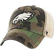 '47 Men's Philadelphia Eagles Burnett Adjustable Camouflage Hat