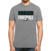 '47 Men's Philadelphia Eagles Club Grey T-Shirt
