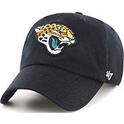'47 Men's Jacksonville Jaguars Black Clean Up Adjustable Hat