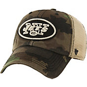 '47 Men's New York Jets Burnett Adjustable Camouflage Hat