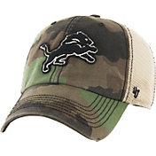 '47 Men's Detroit Lions Burnett Adjustable Camouflage Hat