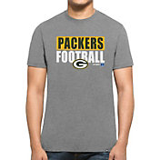'47 Men's Green Bay Packers Club Grey T-Shirt