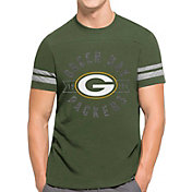 '47 Men's Green Bay Packers Downfield Green T-Shirt