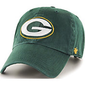 '47 Men's Green Bay Packers Green Clean Up Adjustable Hat