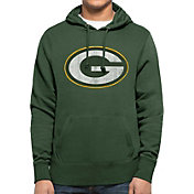 '47 Men's Green Bay Packers MVP Headline Pullover Green Hoodie