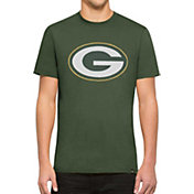 '47 Men's Green Bay Packers Knockout Fieldhouse Applique T-Shirt