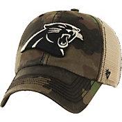 '47 Men's Carolina Panthers Burnett Adjustable Camouflage Hat