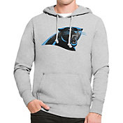 '47 Men's Carolina Panthers MVP Headline Pullover Grey Hoodie