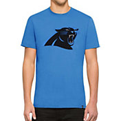 '47 Men's Carolina Panthers Knockout Fieldhouse Applique T-Shirt