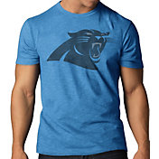 '47 Men's Carolina Panthers Scrum Logo T-Shirt