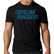 '47 Men's Carolina Panthers Scrum Wordmark T-Shirt