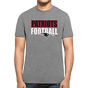'47 Men's New England Patriots Club Grey T-Shirt