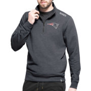 '47 Men's New England Patriots Complete Quarter-Zip Performance Pullover