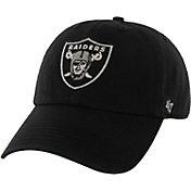 '47 Men's Oakland Raiders Franchise Fitted Black Hat