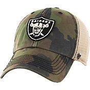 '47 Men's Oakland Raiders Burnett Adjustable Camouflage Hat