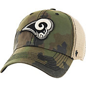 '47 Men's Los Angeles Rams Burnett Adjustable Camouflage Hat