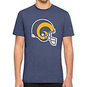 '47 Men's Los Angeles Rams Throwback Flanker Royal T-Shirt