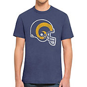'47 Men's Los Angeles Rams Scrum Logo T-Shirt
