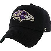 '47 Men's Baltimore Ravens Franchise Fitted Black Hat