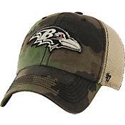 '47 Men's Baltimore Ravens Burnett Adjustable Camouflage Hat