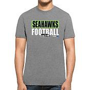 '47 Men's Seattle Seahawks Club Grey T-Shirt
