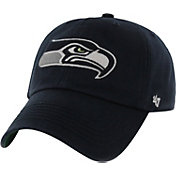 '47 Men's Seattle Seahawks Franchise Fitted Navy Hat
