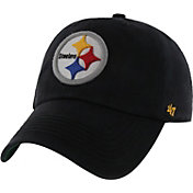 '47 Men's Pittsburgh Steelers Franchise Fitted Black Hat