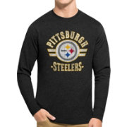 '47 Men's Pittsburgh Steelers Club Long Sleeve Shirt