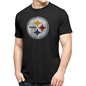 '47 Men's Pittsburgh Steelers Scrum Logo T-Shirt