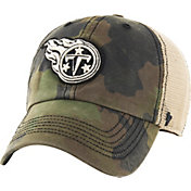 '47 Men's Tennessee Titans Burnett Adjustable Camouflage Hat