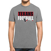 '47 Men's Houston Texans Club Grey T-Shirt