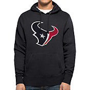 '47 Men's Houston Texans MVP Headline Pullover Navy Hoodie