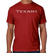'47 Men's Houston Texans Scrum Wordmark T-Shirt