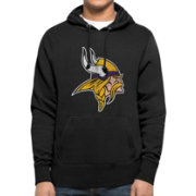 '47 Men's Minnesota Vikings MVP Headline Pullover Black Hoodie